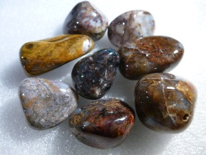 Pietersite - Golden - Tumbled Stone