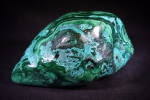 Malachite & Chrysocolla from Democratic Republic of Congo (No.495)