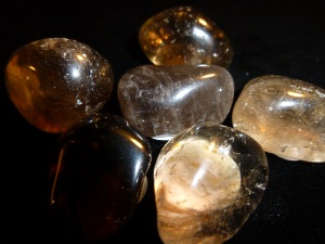Quartz - Smokey Quartz Light - Tumble Stone