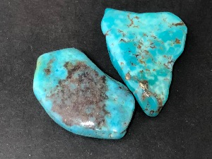 Turquoise - Mexican - 2 to 2.5cm Tumbled Stone.