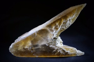 Fish Tail Honey Calcite, from Spain (No.27)