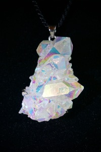 Angel Aura Quartz Pendant (No.3)
