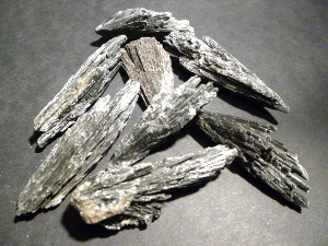 Kyanite - Black Kyanite (individual pieces)