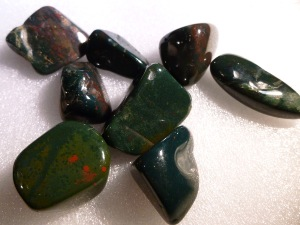 Jasper - Blood (Bloodstone) - Tumbled Stone