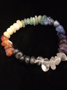 Chakra Bracelet - Tumbled Gemstones (Selected)