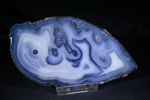 Dyed Agate Slice, from Brazil (No.204)