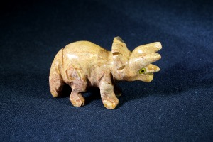 Soapstone Triceratops (No.813)