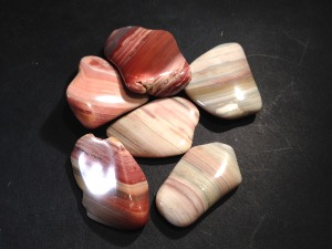 Agate - Banded - Tumbled Stone