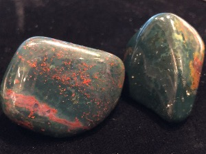 Bloodstone -  2 to 3cm Tumbled Stone