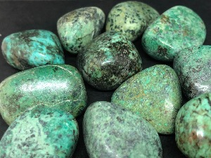 Turquoise - African - 2 to 3 cm Tumbled Stone