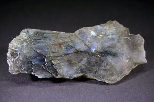Labradorite (Half Polished/Half Rough), from Madagascar (No.7)