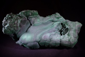 Botryoidal Malachite from Democratic Republic of Congo (No.74)