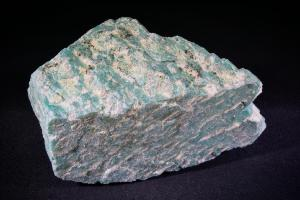 Amazonite, from Spitzkoppe Area, Haribib, Erongo Region, Namibia  (No.75)