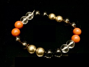 Protection - Bead Bracelet, Elasticated, 16cm (ref111922)