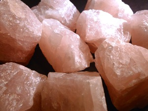 Rose Quartz Brazilian - Rough (individual pieces)